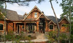 Big Canoe House Plan - Big Canoe House Plan - Exclusive - Front  - Archival Designs