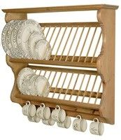 Penny Pine: Penny Pine Double Exmoor Midi Plate Rack - A World of Furniture