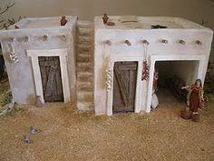 Resultado de imagen para case presepe palestinese Nativity House, Diy Nativity, Christmas Time, Xmas, Mud House, Green Screen Backgrounds, Christmas Decorations, Christmas Ornaments, Christmas Villages