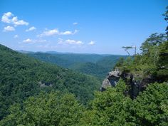 "The Breaks Interstate Park in Virginia and Kentucky:  ""The Grand Canyon of the East."""