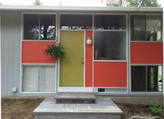 Mid Century curb appeal