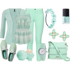 Mint by deedee-pekarik on Polyvore featuring polyvore, fashion, style, French Connection, Keds, Rosetti, Clyda, Kendra Scott, Wet Seal, Eos and NARS Cosmetics