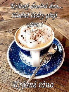 Good Morning, Latte, Panna Cotta, Night, Ethnic Recipes, Buen Dia, Dulce De Leche, Bonjour, Good Morning Wishes