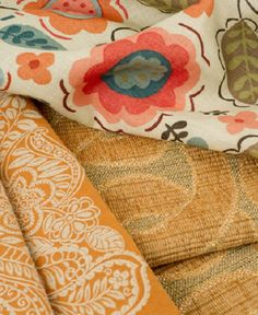 Fresh colorful wovens and linen prints from Vervain.  Showroom Details: Marie-Howard Showroom