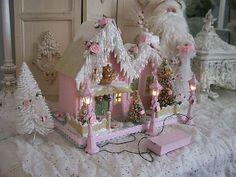 .Pink village house   lovely