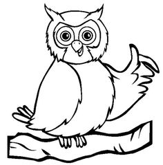 Owl Coloring Pages For Kids Owl Coloring Pages, Online Coloring Pages, Coloring Pages For Kids, Coloring Sheets, Kids Coloring, Preschool Colors, Color Activities, Cute Owl, Origami Owl