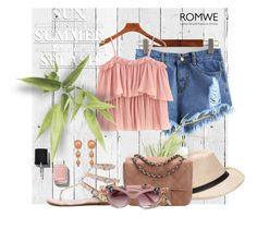"""ROMWE"" by uptodatefashion-julia ❤ liked on Polyvore featuring NLXL and Chanel"