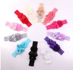 Lace Baby Headband Chic Flower Girls Hair Bow Clips Children Accessories TKGC022 #Unbranded
