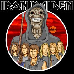 "PARDO DIBUJOS: IRON MAIDEN ""Dance Of Death"""