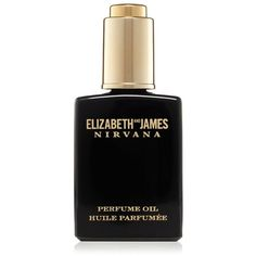 Elizabeth and James Nirvana Black Perfume Oil ($35) ❤ liked on Polyvore featuring beauty products, fragrance, no color, oil perfume, alcohol free perfume, elizabeth and james, elizabeth and james fragrance and elizabeth and james perfume
