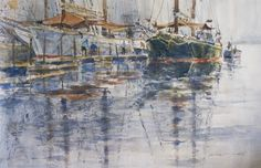 Jack Flynn Watercolors, Watercolor Paintings, Pastel, Artists, Sculpture, Water Colors, Cake, Artist, Sculpting