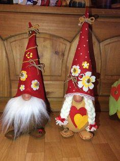 Risultati immagini per babbo natale e elfiin feltro