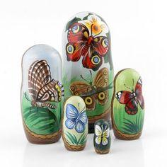 Butterfly Nesting Dolls