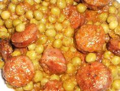 ΑΡΑΚΑΣ ΜΕ ΧΩΡΙΑΤΙΚΑ ΛΟΥΚΑΝΙΚΑ Chana Masala, Beans, Cooking Recipes, Favorite Recipes, Vegetables, Ethnic Recipes, Greek, Food, Chef Recipes