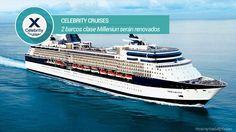 Próxima renovación de 2 barcos de Celebrity Cruises