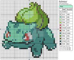 Deviant Art Makibird Pokemon Patterns - 1 Bulbasaur