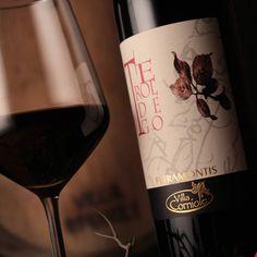 #Teroldego #rotaliano#Petramontis #villacorniole  Prodotto inel cuotev della #PianaRotaliana e vinificato nella cantina di montagna in #Valledicembra.. #instawine #winelover #redwine #vinoautoctino
