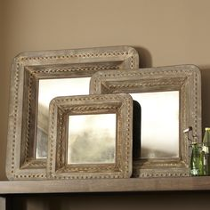 Birch Lane Reflection Wall Decor Would be nice on a coffee table as a tray too!