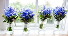 Blaue Inspiritationen zur Hochzeit   Friedatheres