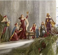 Nativity Set, 7-piece