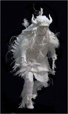 Fabulous paper sculpture - but somehow, I know I could never do this!