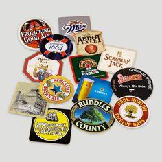 Pub Coasters, Set of 15 $5.99
