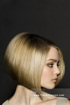 TREVOR Sorbie Lange Blonde weiblich Gerade Bob-Frauen Haarschnitt Poker-gerade Frisuren hairstyles