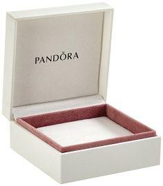 Pandora Original White Jewellery Gift Box 9cm x 9cm x 5cm