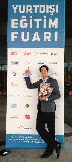 Study in the USA's Simon Hamlin travelled from Seattle to Istanbul to attend the IEFT fair last week! To watch video interviews Simon took at the fair, go to: http://studyusa.com/en/blog/593/study-in-the-usa-at-ieft-istanbul #IEFT #USeducation #educationfairs