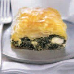 Κρητική πίτα με χόρτα και μάραθο Eat Smarter, Spanakopita, Ethnic Recipes, Food, Serbian, Spinach, Oven, Food Portions, Food Food
