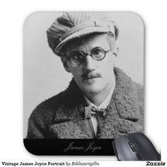 Vintage James Joyce Portrait