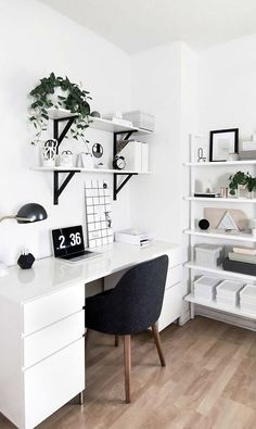 Brilliantly-Organized Home Offices