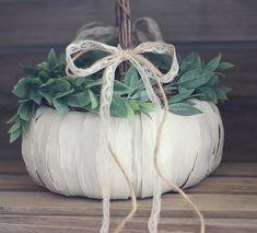 DIY Pumpkin Flower Girl Basket, perfect for a Fall Wedding. {A Handcrafted Wedding} Cute Wedding Ideas, Diy Wedding, Fall Wedding, Wedding Inspiration, October Wedding, Wedding Blog, Wedding Stuff, Flower Petals, Diy Flowers