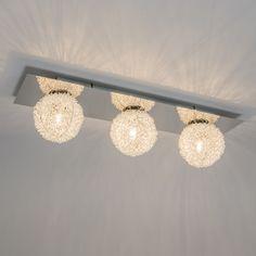 Wand Deckenleuchte Fuzzle 3 Chrom Deckenlampe Lampe Innenbeleuchtung Wohnzimmerlampe