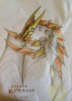 dragão eletrônico , minha criação. minha página no facebook: https://www.facebook.com/Umdragaopordia