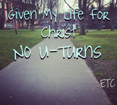In ALL YOUR WAYS, SUBMIT to him, and HE will make YOUR PATHS straight. Proverbs 3:6.  When we give our life in the hands of the lord have faith and trust its for sure leading you to the right path the straight path. Don't expect the path to be filled with beautiful flowers because there will also be thorns to teach lessons but no matter what GOD has PAVED that road in your life and committing to the LORD means CALM ASSURANCE that regardless of any hurdle HE WILL MAKE YOUR PATHS STRAIGHT…