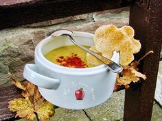 Mój kuchenny Świat: Zupa ze smażonej cukini