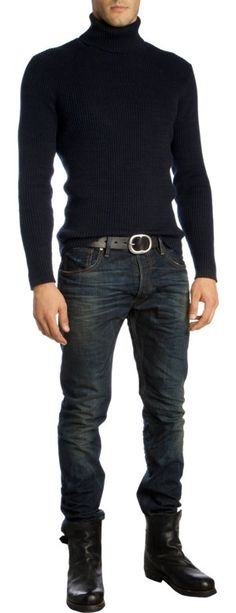 Simple, Classic Ralph Lauren Black Label Prospector Jean