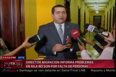 El Director De Migración Informa Problemas En AILA No Son Por Falta De Personal