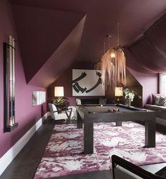 Billards Room // San Francisco Decorator Showcase // Geen Couch Interior Design