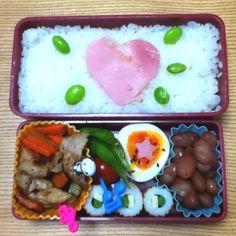 Heart-bento❤