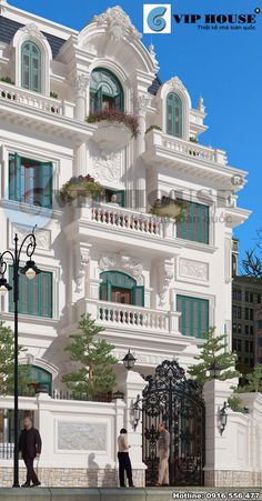 Classic House Exterior, Classic House Design, Dream House Exterior, Modern House Design, Architecture Building Design, Facade Design, Classic Architecture, House Outside Design, House Front Design