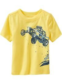 Dune-Buggy Graphic Tees for Baby