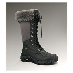 UGG Adirondack Tall Women's Black Snow Boots