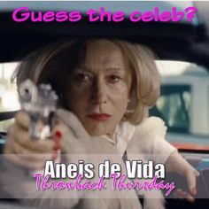 #ThrowbackThursday Its none other than Helen Mirren! She was The Queen in both the movie of the same name and Red 2  Remember that you can follow us on /AneisDeVida on twitter and pinterest or look up our company profile on Linked In Helen Mirren, Company Profile, Throwback Thursday, Celebs, Celebrities, Looking Up, Queen, Twitter, Movies