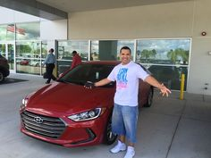 """""""Billy was very pleasant and down to Earth. He made everything for us easy and got to the point!"""" stated Jeffrey Simpson after purchasing his brand new 2017 Hyundai Elantra! Thank you so much Mr. Simpson, it was a pleasure doing business with you! We hope that you are enjoying your new Hyundai and please; if there is anything that we can do, do not hesitate to ask… We are here to help! #LakelandAutomall #LakelandHyundai #2017Elantra #HyundaiElantra #Hyundai"""