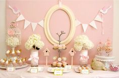 Beautiful Tablescape for Easter or Bridal shower!