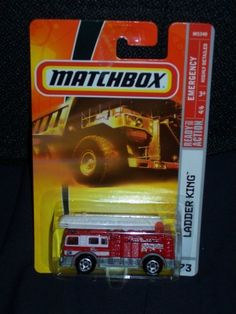 Matchbox 2008 # 73 Ladder King Emergency Series 4/6 1:64 Scale Collectible Die Cast Car by Mattel. $9.99