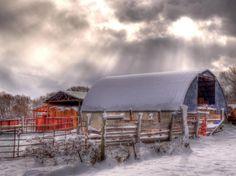 Winter in Eden, Utah