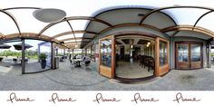 Plume Restaurant Matakana is offering both indoor and patio dining, Patio Dining, Gazebo, Indoor, Outdoor Structures, Restaurant, Pure Products, Mansions, House Styles, Home Decor